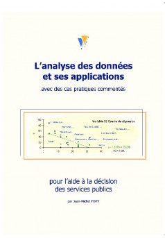 L'ANALYSE DES DONNEES ET SES APPLICATIONS - Autopublié sur Bookelis