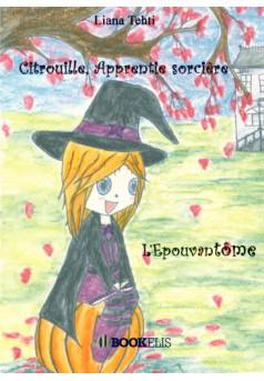Citrouille, Apprentie sorcière - Couverture de livre auto édité
