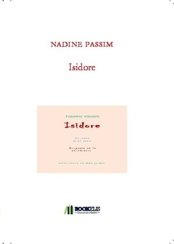 Isidore - Couverture de livre auto édité