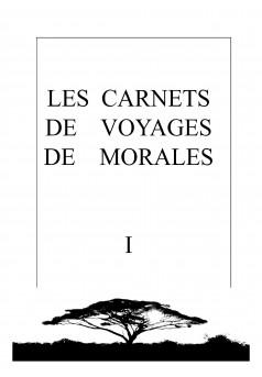 Les Carnets de Voyages de Morales - I - Couverture Ebook auto édité