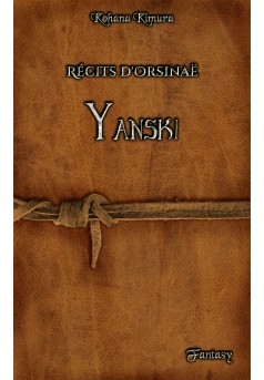 Récits d'Orsinaë : Yanski - Couverture Ebook auto édité