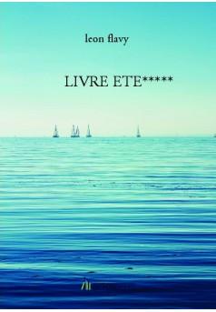 LIVRE ETE***** - Couverture de livre auto édité