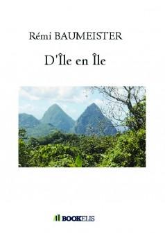 D'Île en Île - Couverture de livre auto édité
