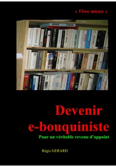Devenir e-bouquiniste - Couverture Ebook auto édité
