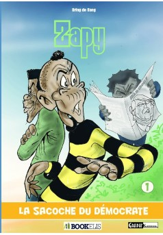 ZAPY - Couverture de livre auto édité