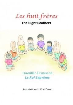 Les huit frères - Couverture de livre auto édité