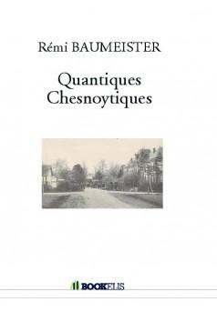Quantiques Chesnoytiques - Couverture de livre auto édité