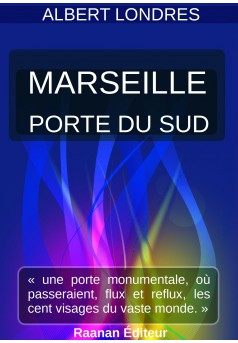 Marseille, porte du sud - Couverture Ebook auto édité