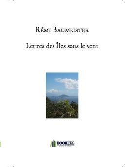 Lettres des Îles sous le vent - Couverture de livre auto édité