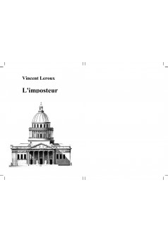 L'imposteur - Couverture Ebook auto édité