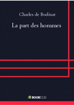 La part des hommes - Couverture de livre auto édité