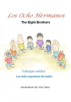 Los Ocho Hermanos - Couverture de livre auto édité