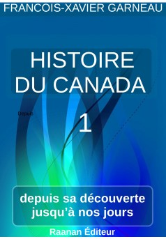 Histoire du Canada - tome 1