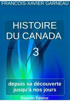 Histoire du Canada - tome 3