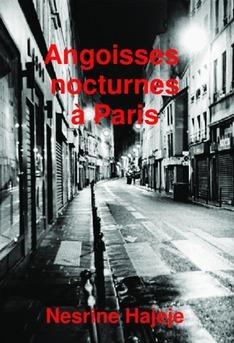 Angoisses nocturnes à Paris - Couverture de livre auto édité