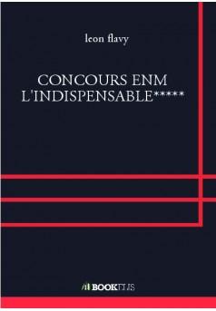 CONCOURS ENM L'INDISPENSABLE***** - Couverture Ebook auto édité