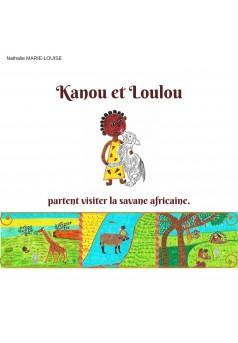 Kanou et Loulou - Couverture Ebook auto édité