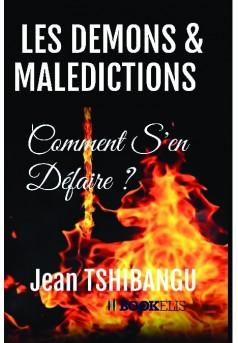 LES DEMONS & MALEDICTIONS  - Couverture de livre auto édité