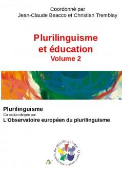 Plurilinguisme et éducation - Volume 2 - Couverture de livre auto édité