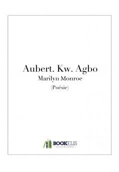Marilyn Monroe - Couverture Ebook auto édité