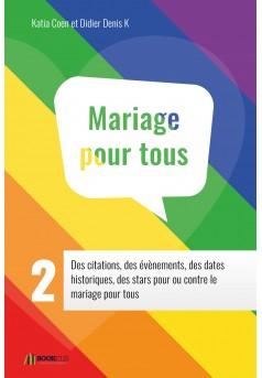 GUIDE MARIAGE POUR TOUS 2 - Couverture Ebook auto édité