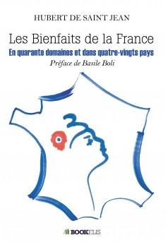 Les bienfaits de la France - Couverture Ebook auto édité