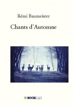 Chants d'Automne - Couverture de livre auto édité