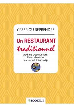 Créer ou reprendre un restaurant traditionnel - Couverture Ebook auto édité