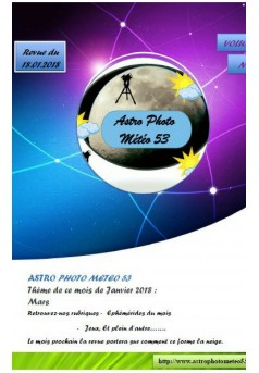 Revue d'astro photo meteo 53 - Couverture Ebook auto édité