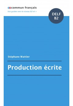 Production écrite DELF B2 - Couverture Ebook auto édité