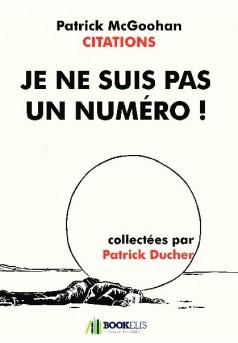 Je ne suis pas un numéro ! - Couverture de livre auto édité