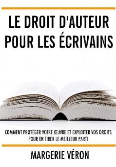 Le droit d'auteur pour les écrivains - Couverture de livre auto édité