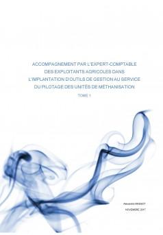 IMPLANTATION D'OUTILS DE GESTION AU SERVICE DU PILOTAGE DES UNITÉS DE MÉTHANISATION - Couverture Ebook auto édité