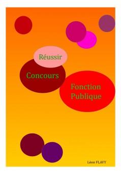 CONCOURS FONCTION PUBLIQUE 2016-2017 - Couverture Ebook auto édité
