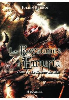 LES ROYAUMES D'EMURIA - Couverture de livre auto édité