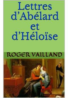 Lettres d'Abélard et d'Héloïse - Couverture Ebook auto édité