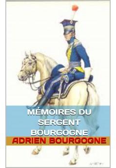 mèmoires du sergent bourgogne - Couverture Ebook auto édité