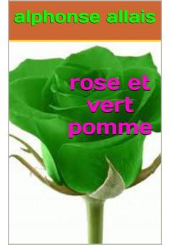 rose et vert pomme - Couverture Ebook auto édité