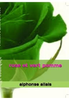 rose et vert pomme