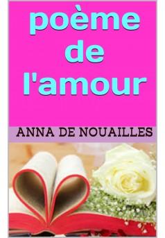 poeme de l amour - Couverture Ebook auto édité
