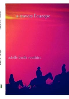a travers l'europe - Couverture de livre auto édité