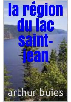 la region du lac saint jean  - Couverture Ebook auto édité