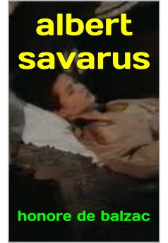 albert savarus  - Couverture Ebook auto édité