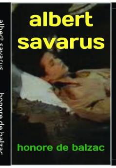 albert savarus  - Couverture de livre auto édité