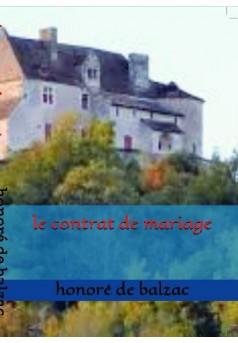 le contrat de mariage - Couverture de livre auto édité