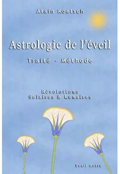 Astrologie de l'éveil - Couverture de livre auto édité