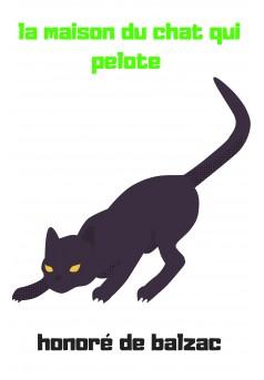 la maison du chat qui pelote  - Couverture Ebook auto édité