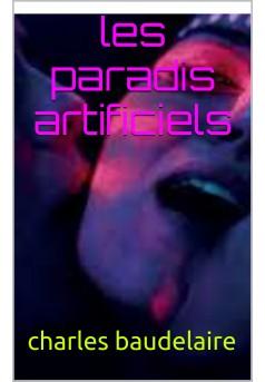 le paradis artificiel - Couverture Ebook auto édité