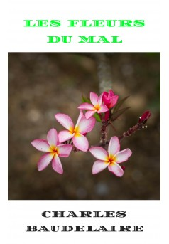 les fleurs du mal  - Couverture Ebook auto édité