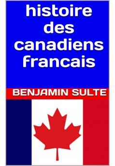 histoire des canadiens français  - Couverture Ebook auto édité